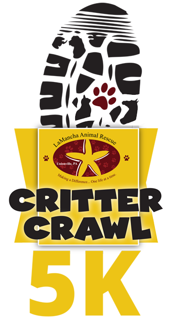 LaMancha Animal Rescue Critter Crawl 5K logo